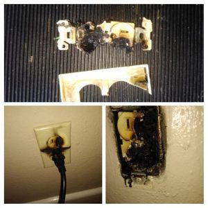 outlet fire repair