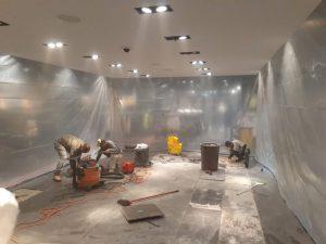 commercial tile installer