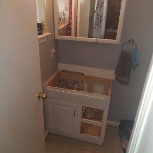 bathroom sink remodeling