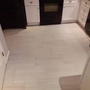 kitchen tile flooring installer